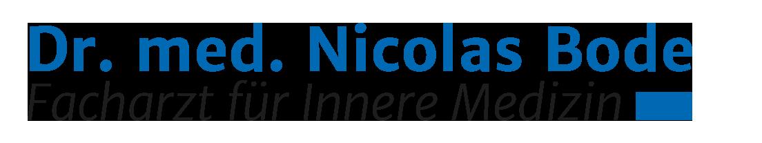 Logo Dr. med. Nicolas Bode